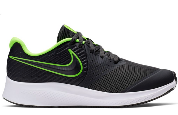 Star Runner 2  Anthracite/Green (Youth)