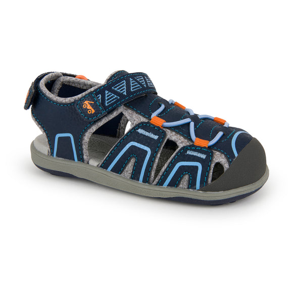 Lincoln Navy/Orange (Toddlers/Kids)