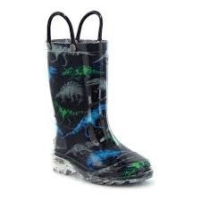 Light Up Dinosaur Rain Boot