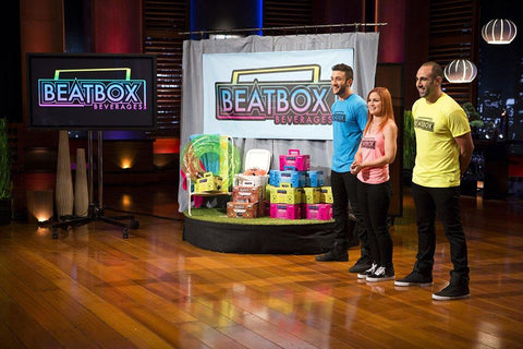abc's shark tank hosting beatbox