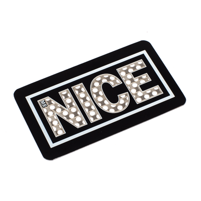 STAY NICE GRINDER CARD - BLACK - MR NICE