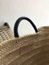 Load image into Gallery viewer, All Natural Woven and Leather Day-Tote