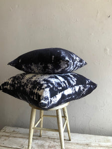 Feather Filled Raw Silk House Pillows