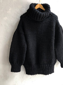 Chunky Knit Roll Neck Sweater