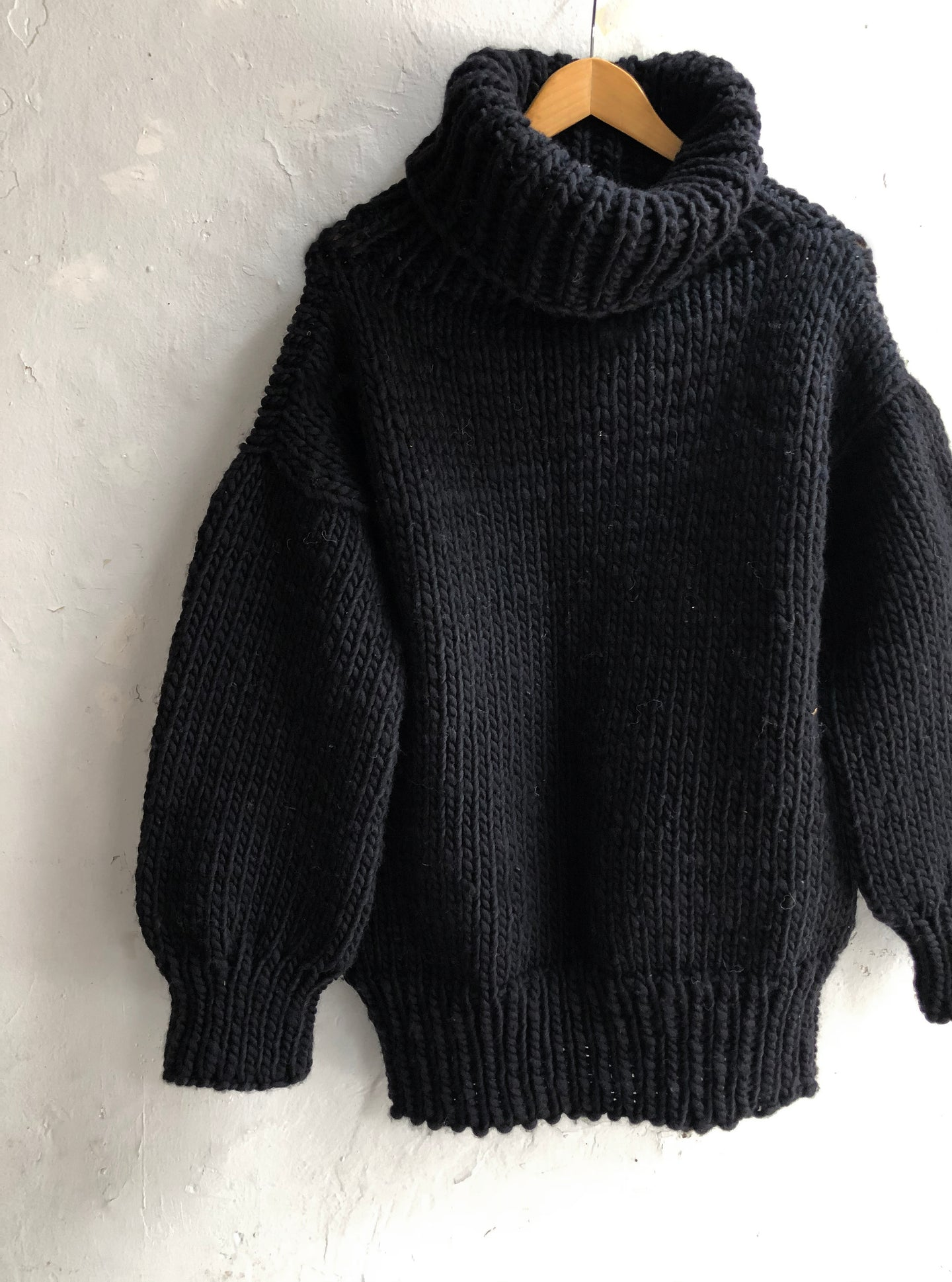 Stellapop Chunky Knit Roll Neck Sweater