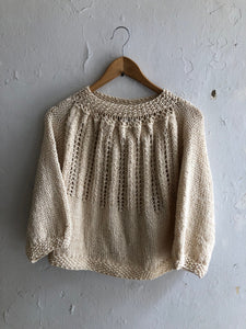 Stellapop Cotton Loose Knit Sweater