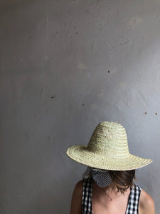 Natural Sun Hat with Hook