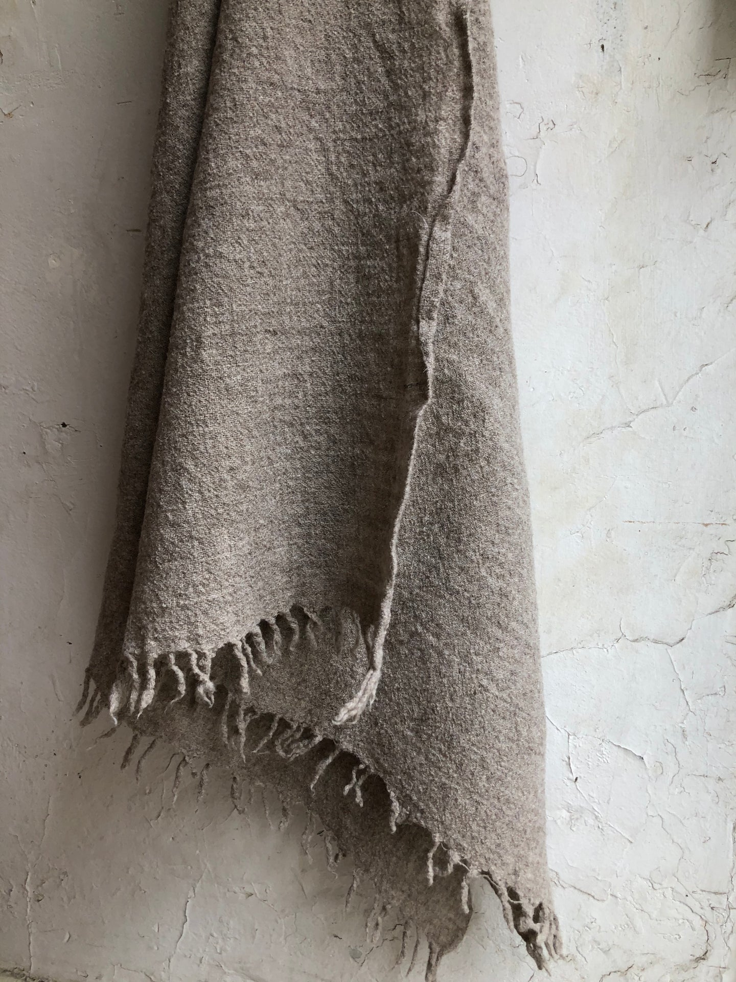 Natural Fringe Scarf