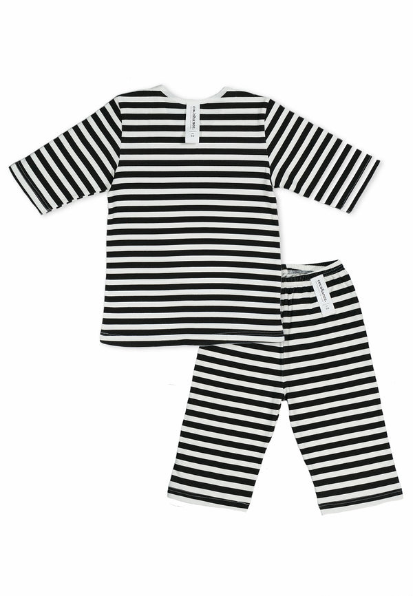 Cocohanee Black White Striped