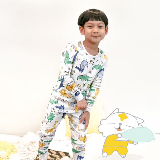 Dino meets Lion Pajamas