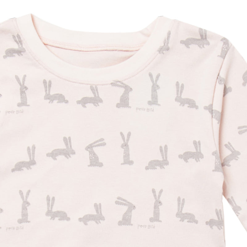 Cocohanee Grey Rabbit Pink