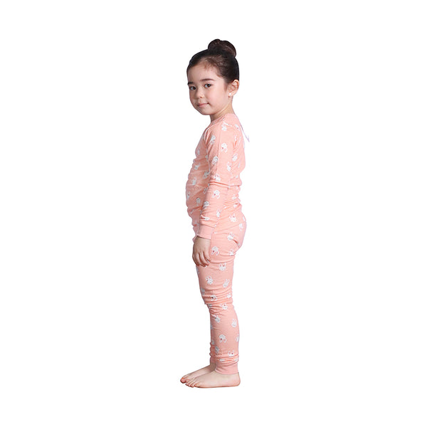 Hanee's Orange Rabbit Pajamas