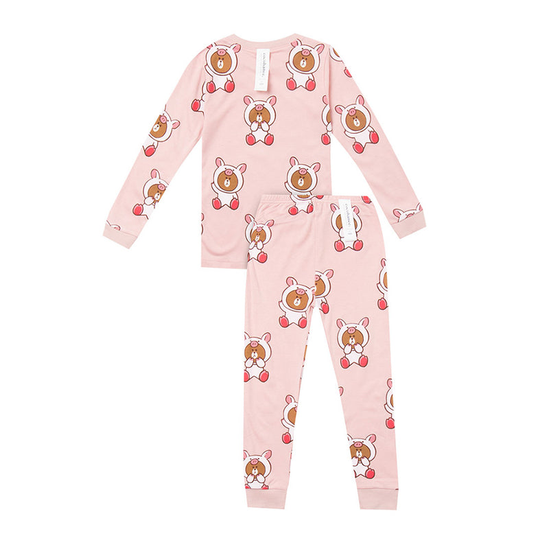 Cocohanee Pig Bear Pink