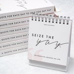 Seize The Yay Quote Flipbook