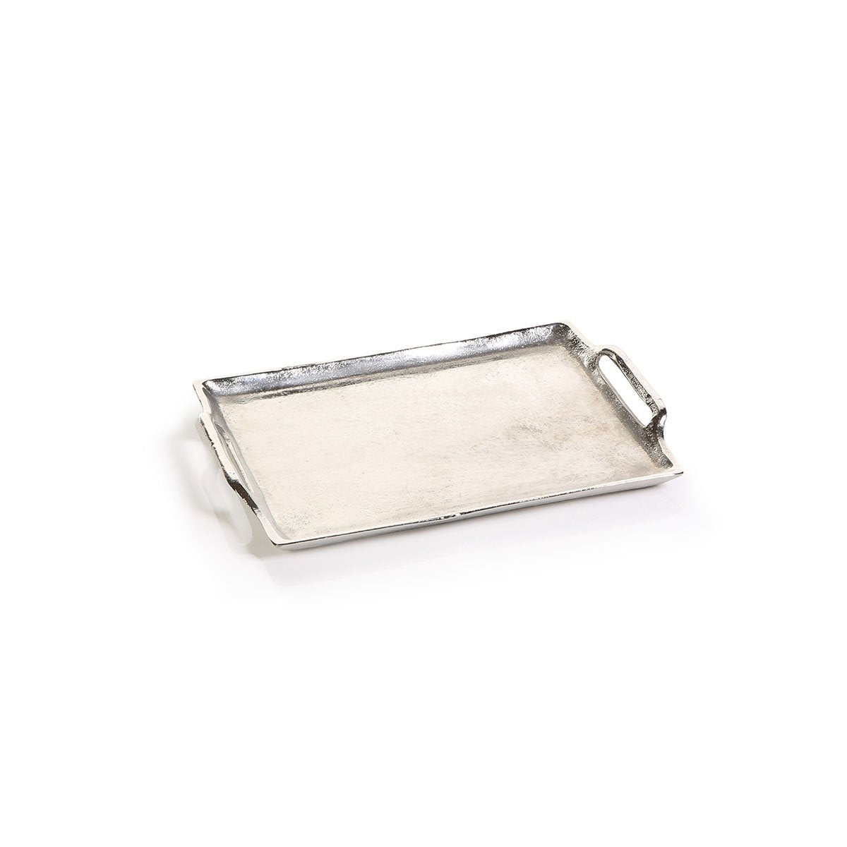 small barbuda aluminum tray with handles