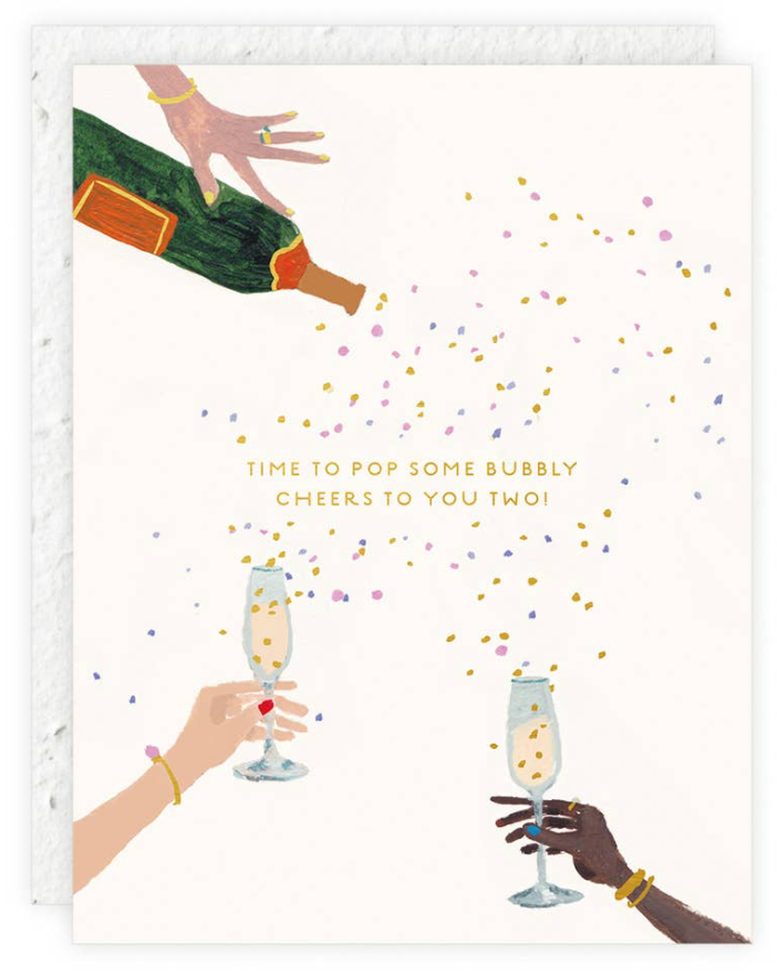 Let's Pop Some Bubbly Card