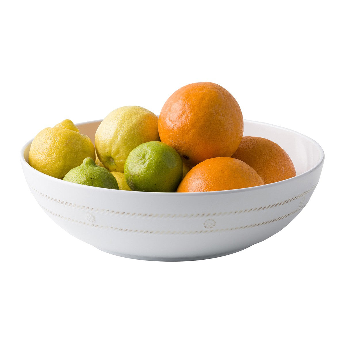 "melamine white wash 12"" bowl"