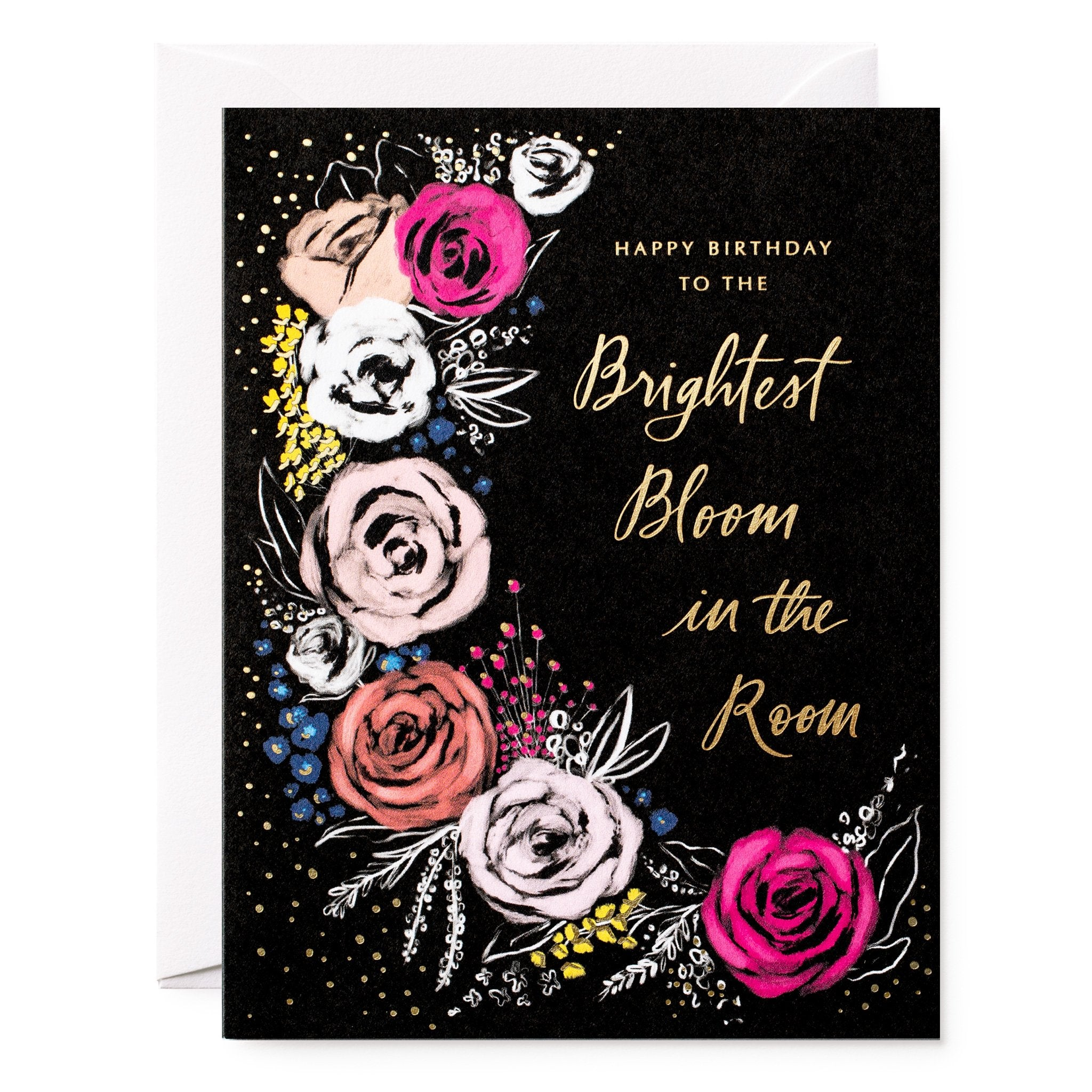 brightest bloom birthday card