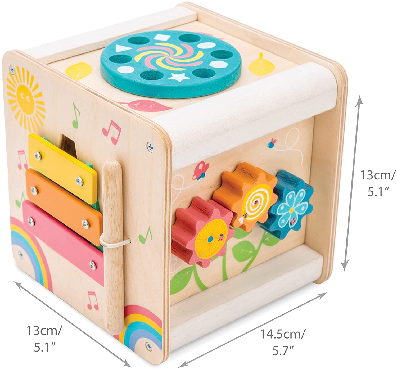 petit activity cube toy