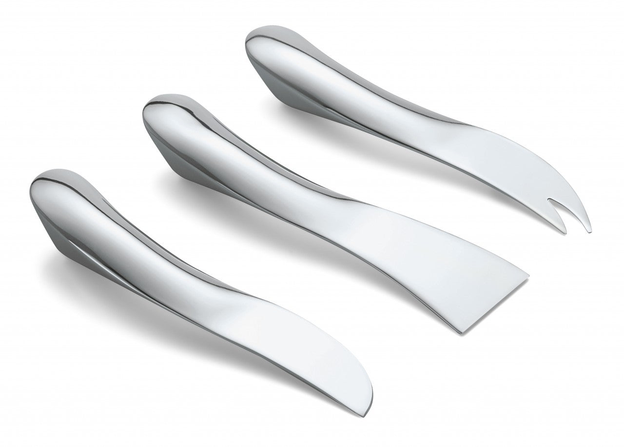 3 Pieces Cheese Knife Set