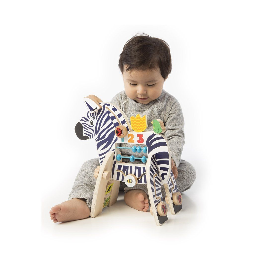 Zebra Activity Center Toy