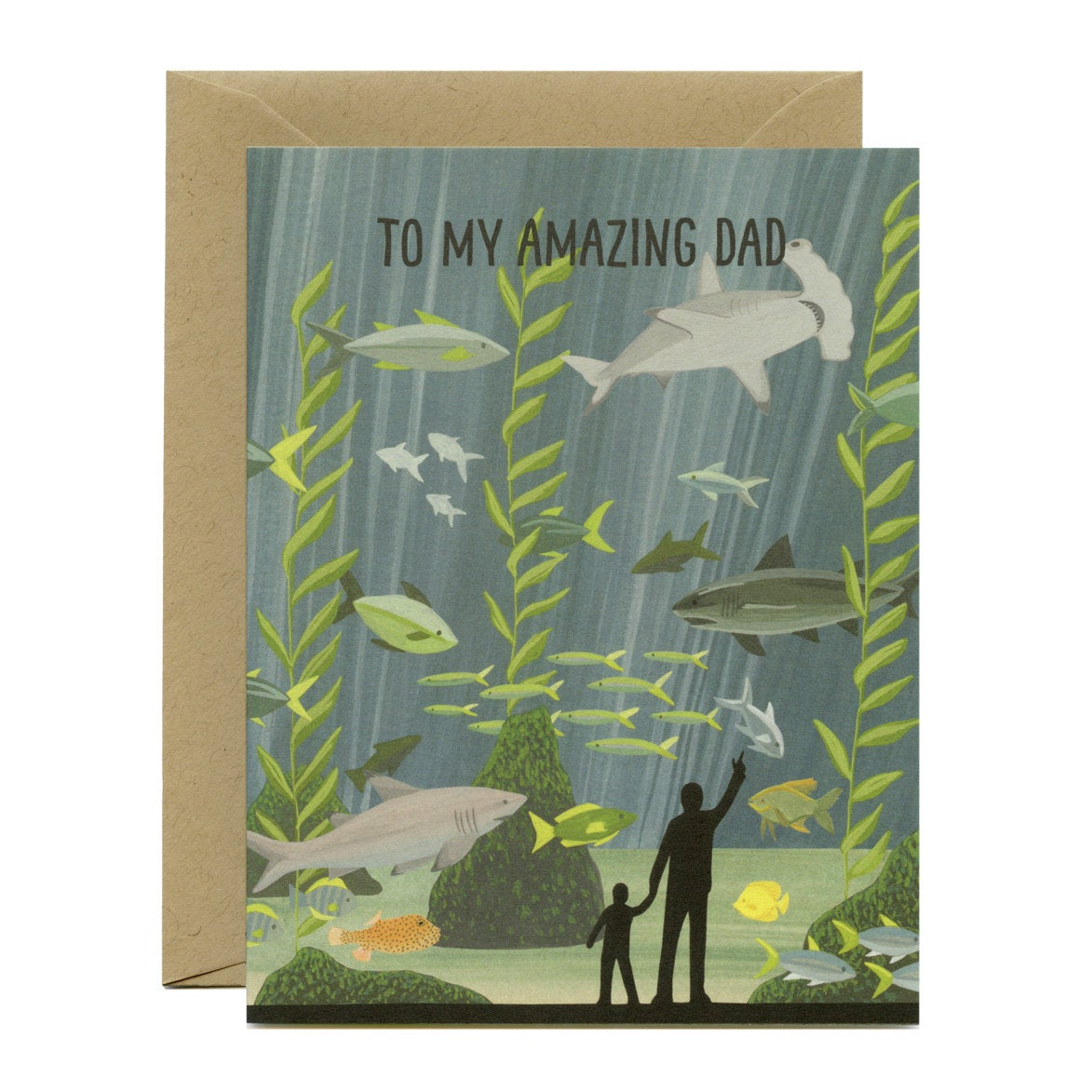 Aquarium Dad Card