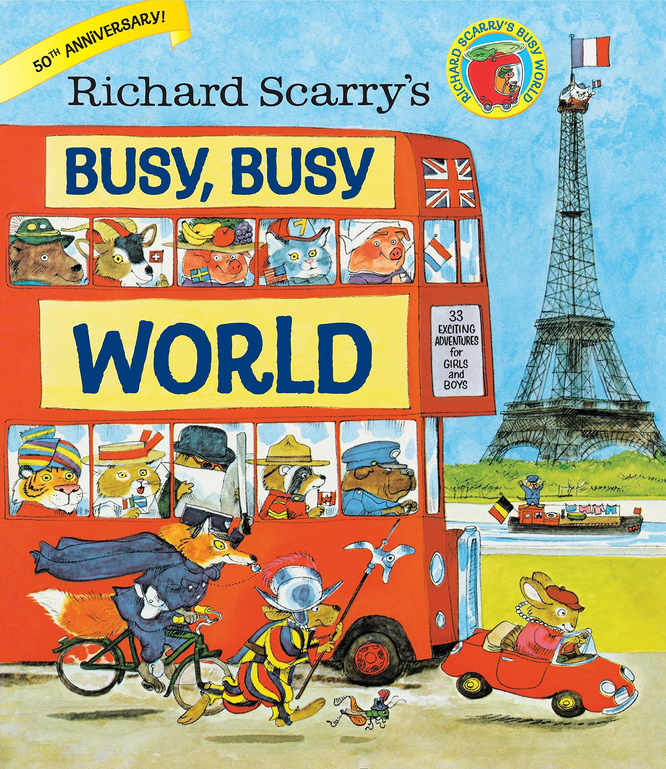 Richard Scarry's Busy, Busy World Book