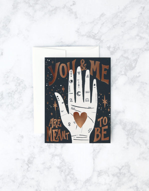 palmistry love card