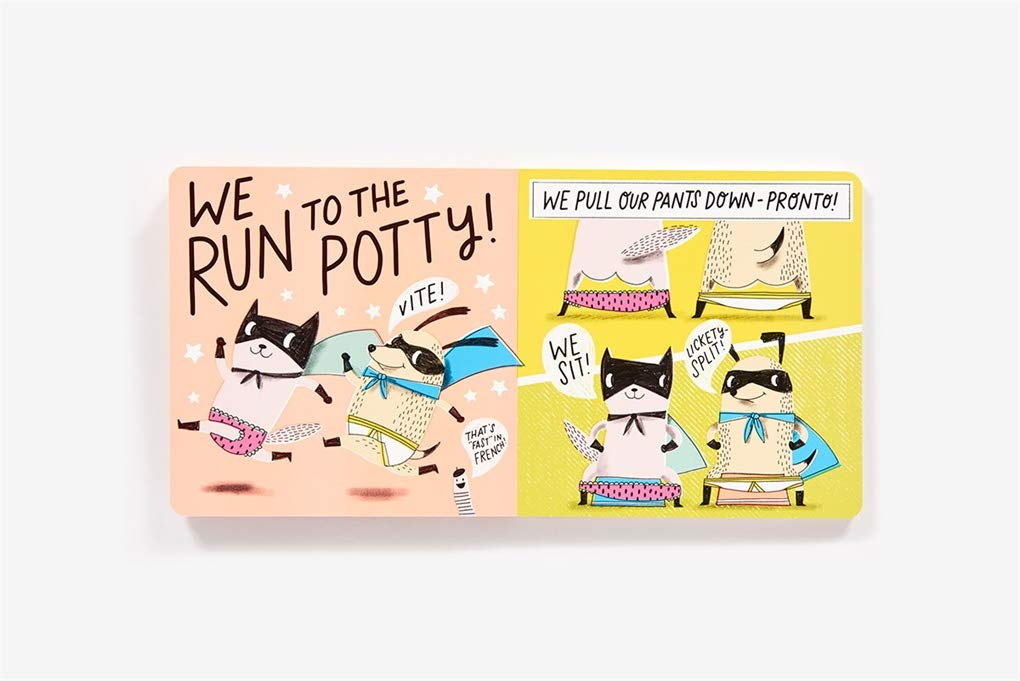 super pooper and whizz kid potty power book