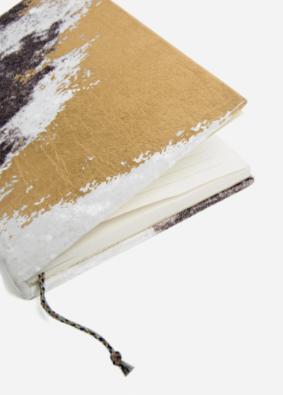 Guilded Shoreline Velvet Journal