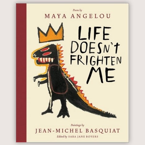 life doesn't frighten me book (25th anniversary edition)