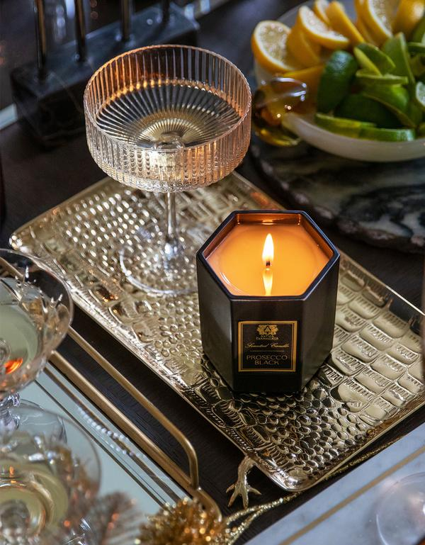 Prosecco Black Candle