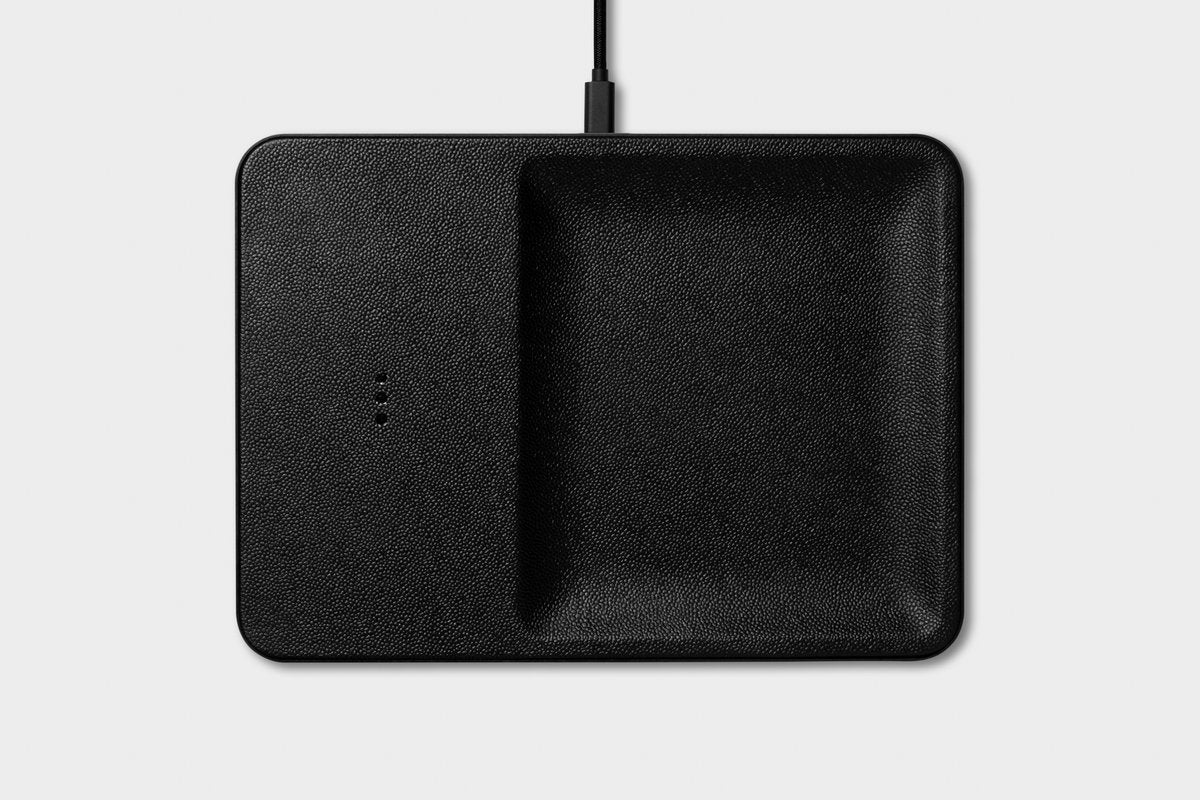Catch-All Black Wireless Charger