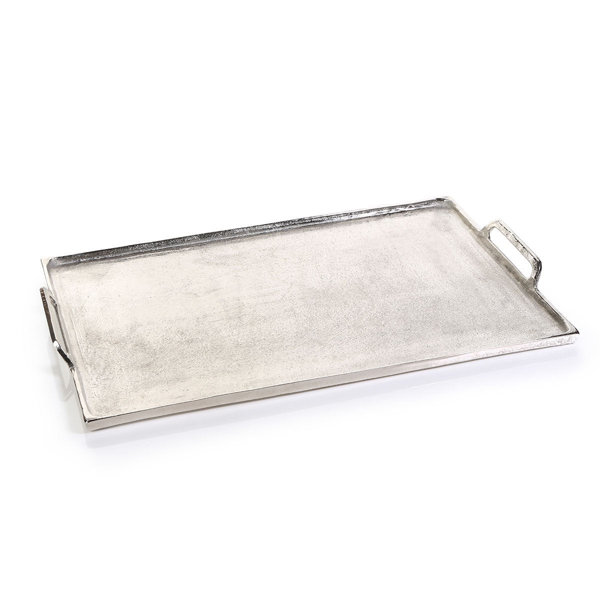 large barbuda aluminum tray with handles