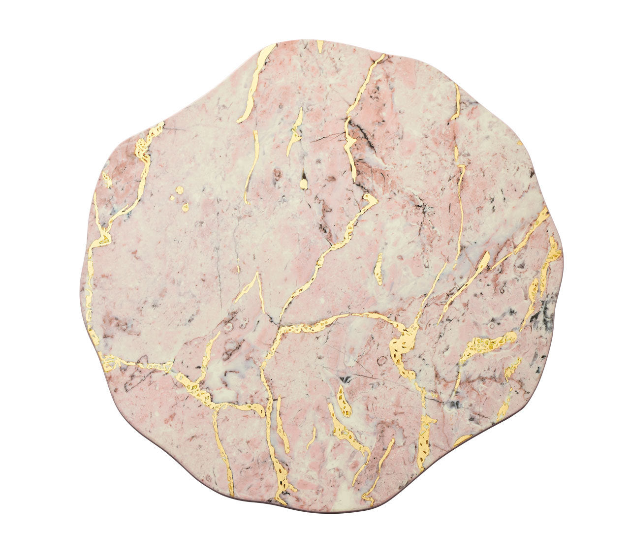 cosmos placemats blush & gold s4
