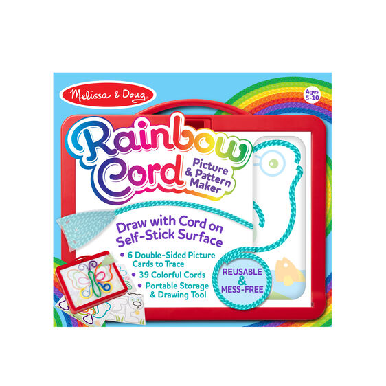 rainbow cord picture pattern maker