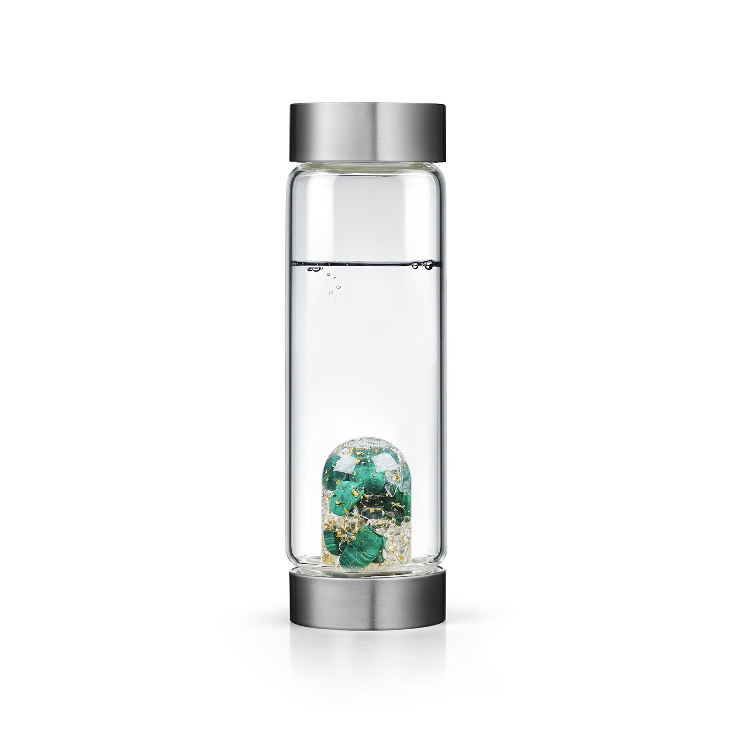 Malachite Prosperity Water Bottle