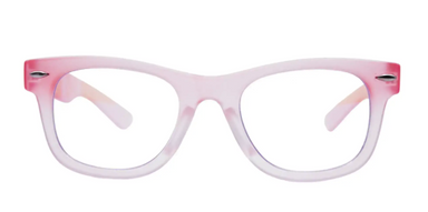 pink max blue-light blocking glasses for kids