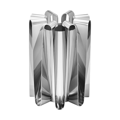 Stainless Steel Sculptural Vase