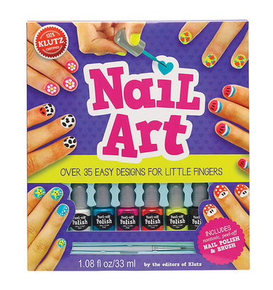 Nail Art Design Kit for Little Fingers