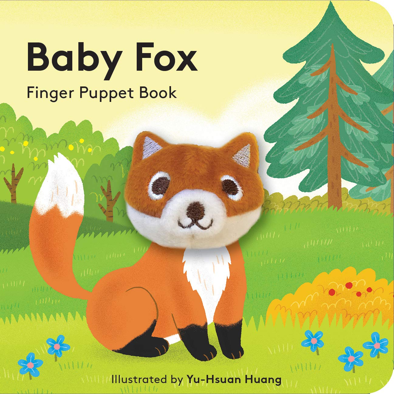 Baby Fox Finger Puppet Book