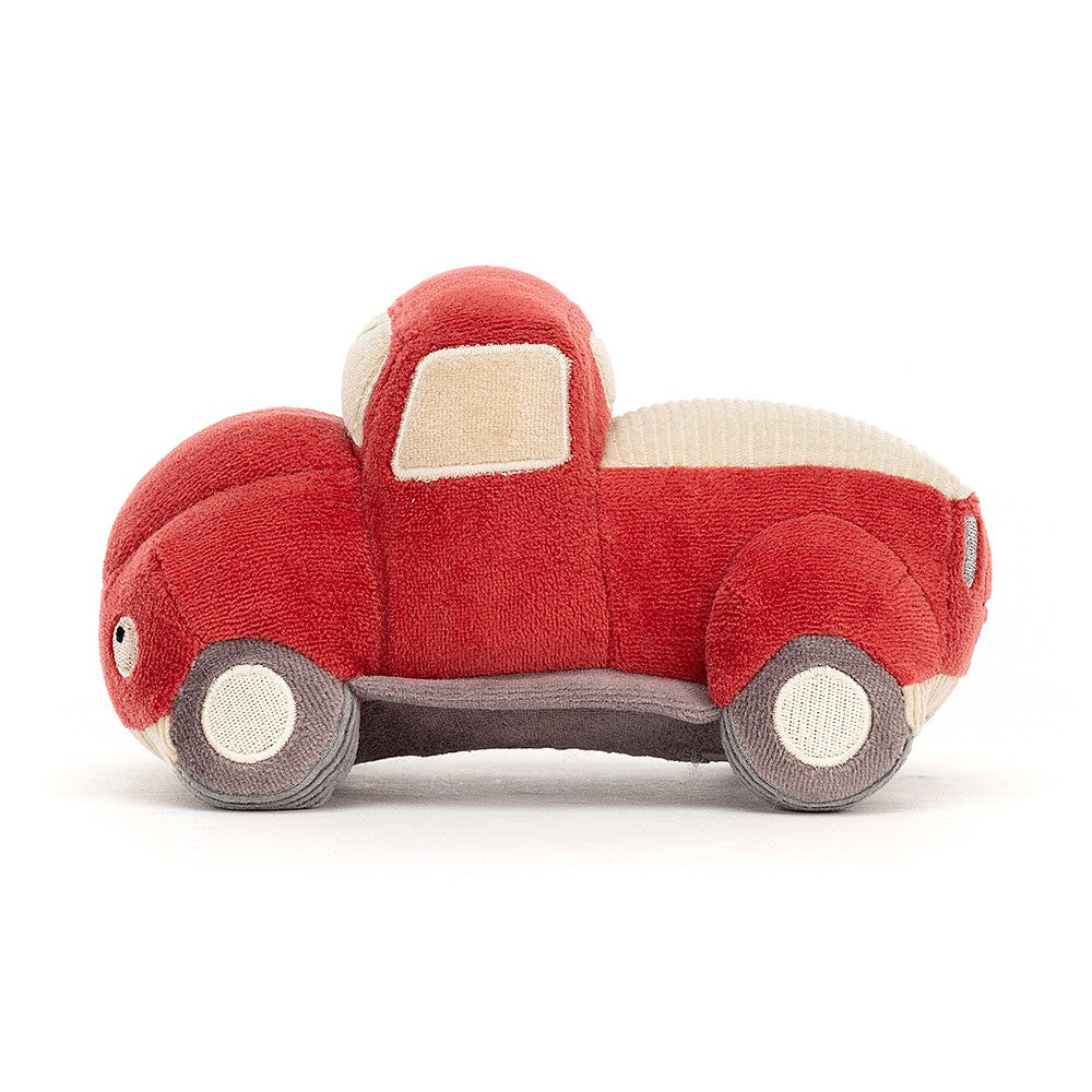 wizzi truck plush toy