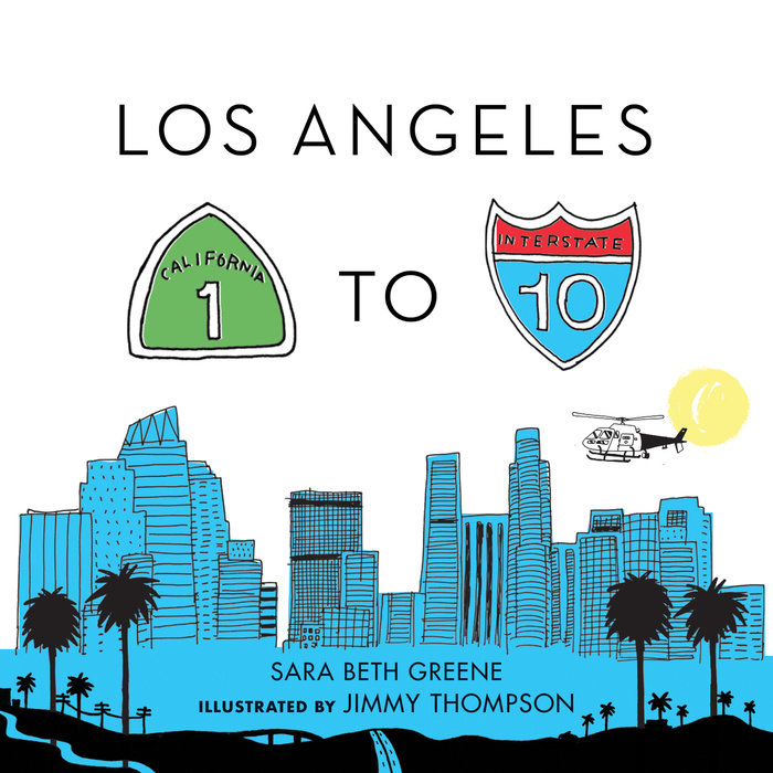 Los Angeles 1 to 10 Book