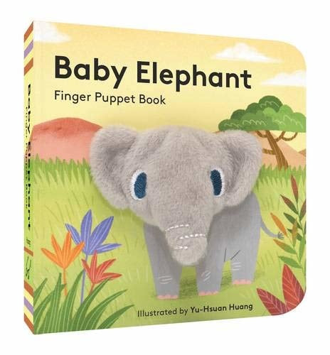 baby elephant puppet book