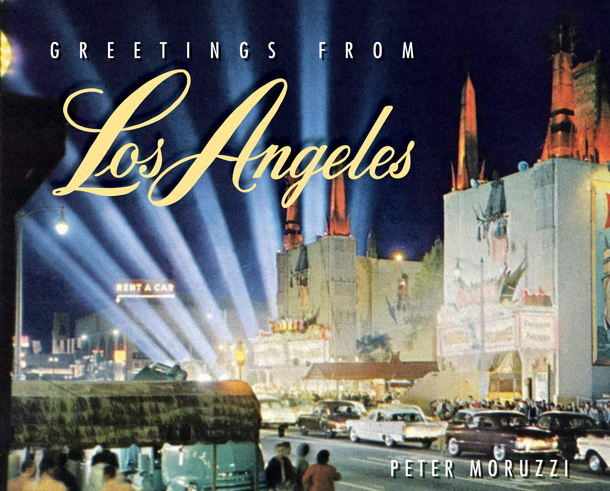 greetings from Los Angeles book