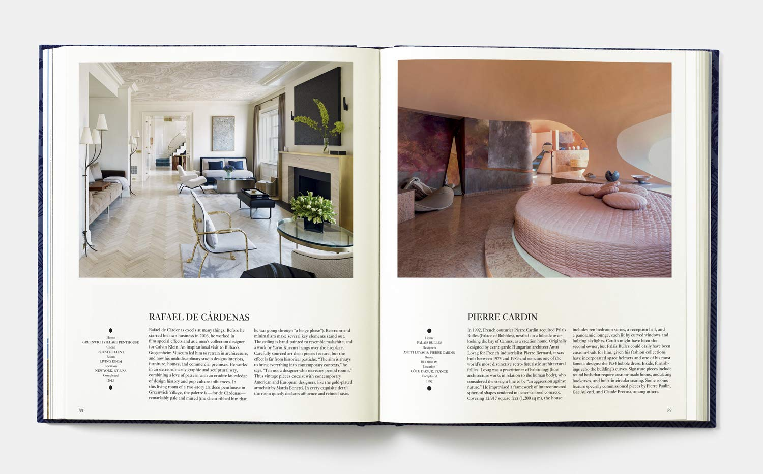 interiors (platinum gray edition): greatest rooms of the century book