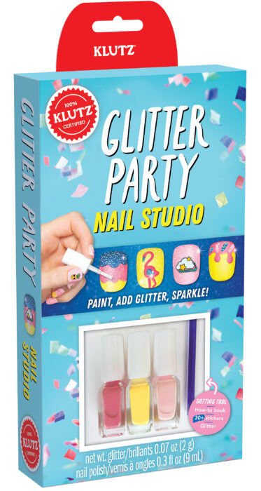 glitter party nail studio kit