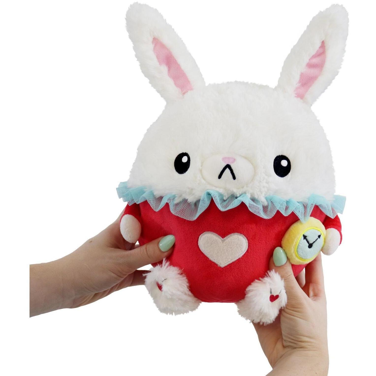 Mini White Rabbit Stuffed Animal