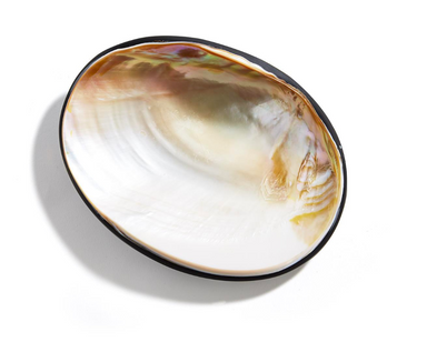 Clam Pearl Plate