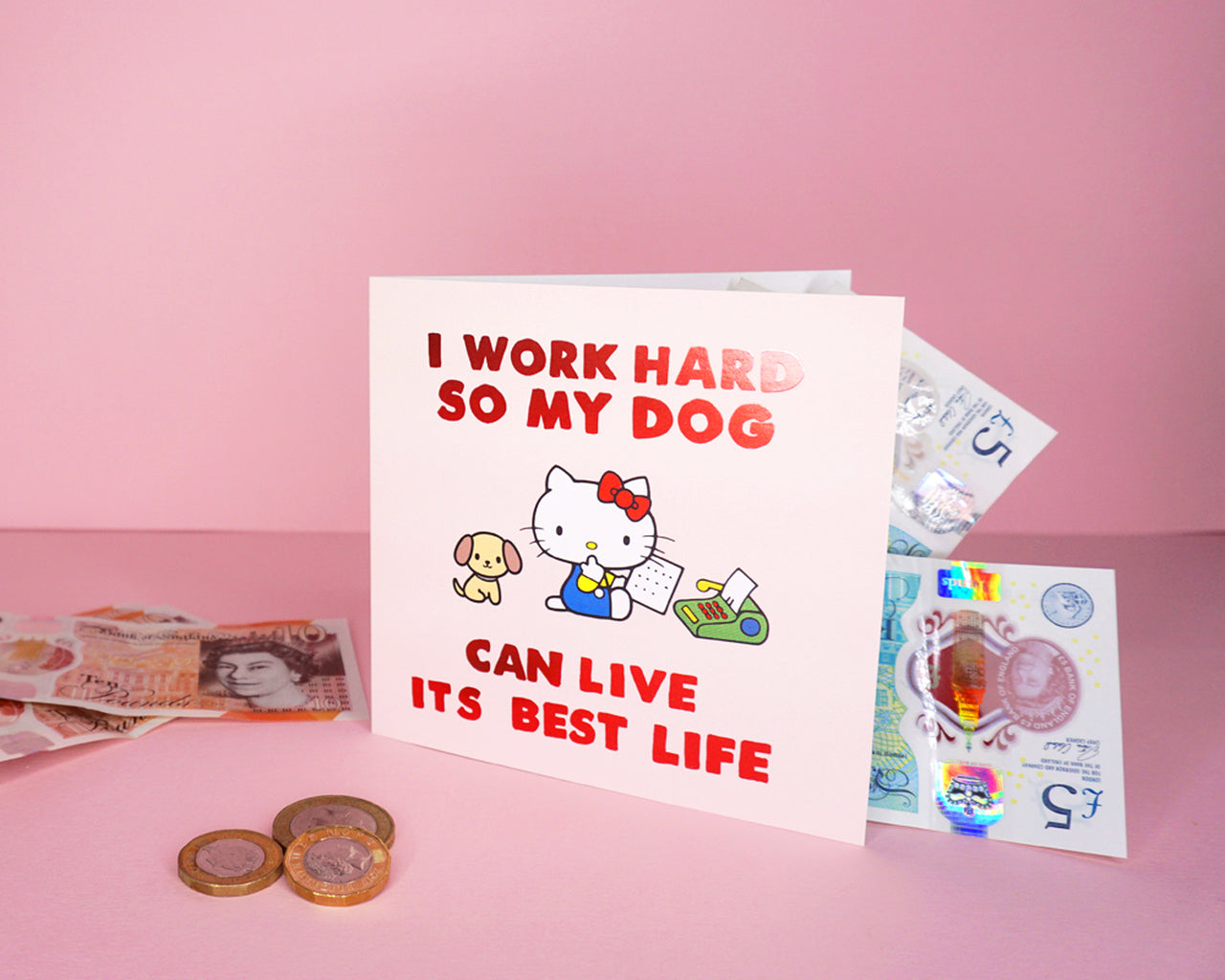 best dog life card